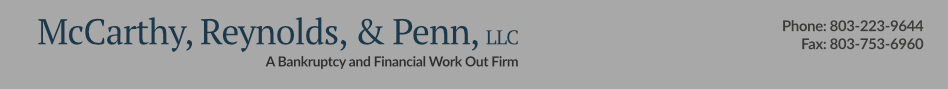 McCarthy Law Firm | Bankruptcy